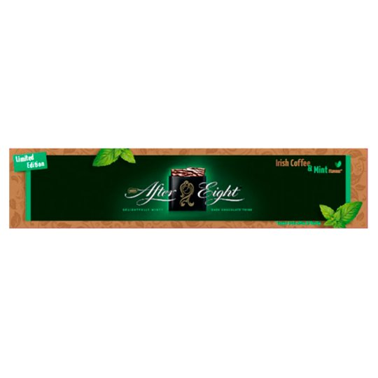 After Eight Mint Chocolate Thins with Irish Coffee Flavour 400 g