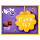 Milka Thank You Alpine Milk Chocolate Pralinés with Cocoa Cream Fillings 120 g