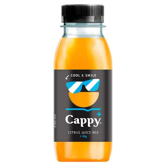 Cappy Plus Cool & Smile narancs-mandarin-citromlé 250 ml