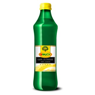 Rauch 100% Lemon Juice 0,25 l
