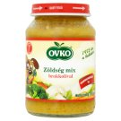 Ovko Gluten- and Dairy-Free Vegetable Mix with Broccoli Baby Food 7+ Months 190 g