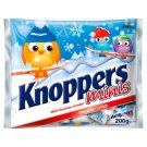 Knoppers Minis Filled Wafer Semi-Covered with Cocoa Mass 200 g