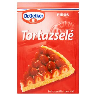 Dr. Oetker Red Cake Jelly Powder 12 g