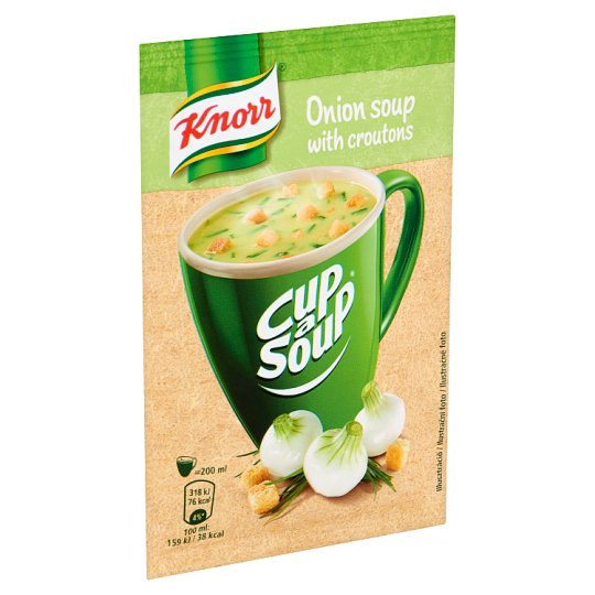 Knorr Cup a Soup Onion Cream Soup with Croutons 17 g