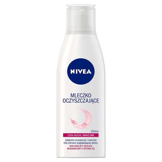 NIVEA Mleczko oczyszczające cera sucha i wrażliwa 200 ml