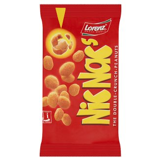 NicNac's The Double Crunch Peanuts 125 g