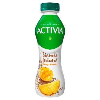 Danone Activia Jogurt siemię lniane mango-ananas 280 g