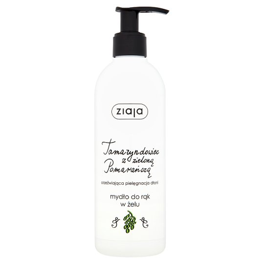 Ziaja Tamarind with Green Orange Luxury Handwash Gel 270 ml