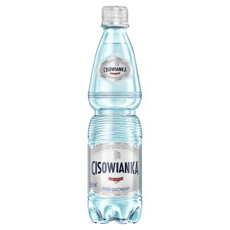 Cisowianka Natural Mineral Low-Sodium Lightly Carbonated Water 0.5 L