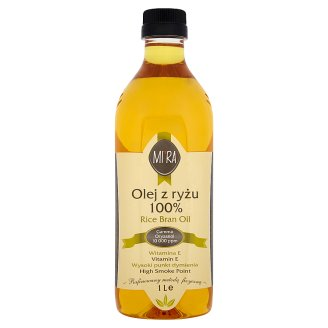 Mira 100% Rice Bran Oil 1 L