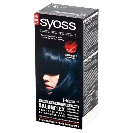 Syoss SalonPlex Farba do włosów Granatowa czerń 1-4