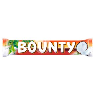 Bounty Dark Moist Tender Coconut Covered in Thick Milk Chocolate 57 g (2 Pieces)