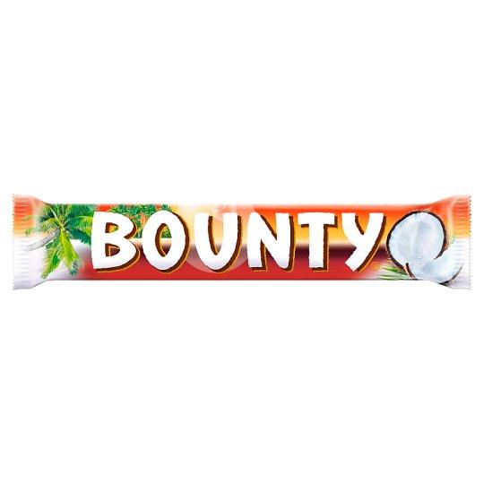 Bounty Dark Moist Tender Coconut Covered in Thick Milk Chocolate 57 g (2 x 28.5 g)