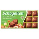 Schogetten Alpine Milk Chocolate with Hazelnuts Czekolada 100 g
