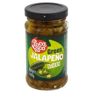 Poco Loco Zielona papryczka Jalapeño krojona 220 g