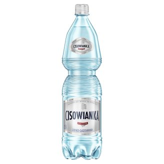 Cisowianka Natural Mineral Low-Sodium Lightly Carbonated Water 1.5 L