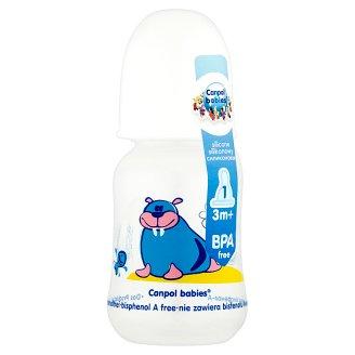 Canpol Babies Butelka dekorowana 3 m+ 125 ml