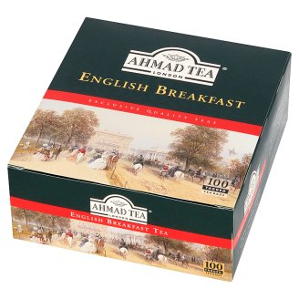 Ahmad Tea English Breakfast Black Tea 200 g (100 Tea Bags)