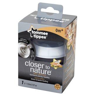 Tommee Tippee Closer to Nature Butelka ze smoczkiem o wolnym przepływie od 0 m 150 ml