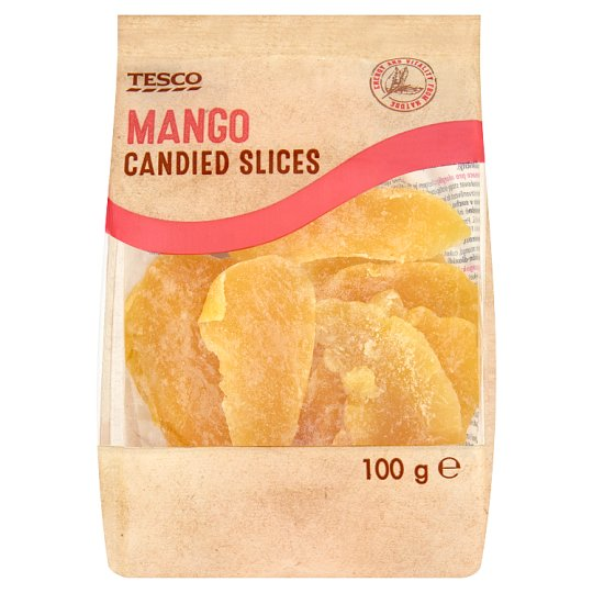 Tesco Sliced Candied Mango 100 g