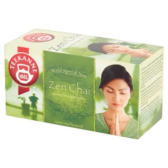 Teekanne World Special Teas Zen Chaí Lemon and Mango Flavoured Green Tea 35 g (20 Tea Bags)