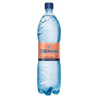 Dobrowianka Strong Sparkling Natural Mineral Water 1.5 L