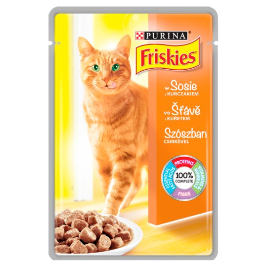 Friskies Cat Food with Chicken in Sauce 100 g