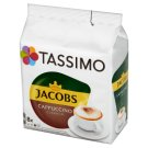 Tassimo Jacobs Cappuccino Classico Ground Coffee 8 Capsules and Milk with Sugar 8 Capsules 260 g