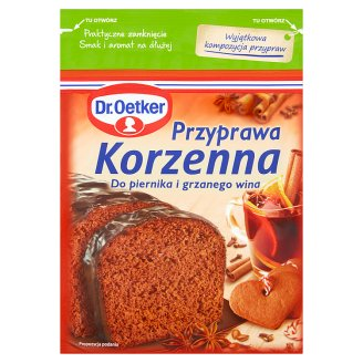 Dr. Oetker Spice Mix to Gingerbread and Mulled Wine 40 g