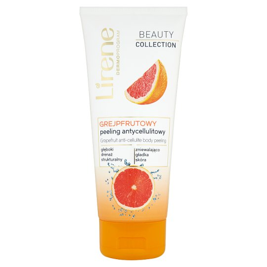 Lirene Dermoprogram Beauty Collection Grapefruit Anti-Cellulite Body Peeling 200 ml