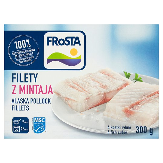 FRoSTA Pollock Fillets 300 g (4 Pieces)