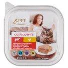 Tesco Pet Specialist Karma dla dorosłych kotów pasztet z wołowiną i kurczakiem 100 g