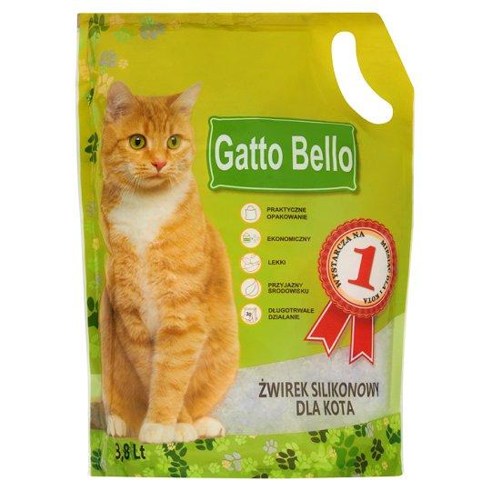 Gatto Bello Żwirek silikonowy dla kota 3,8 l
