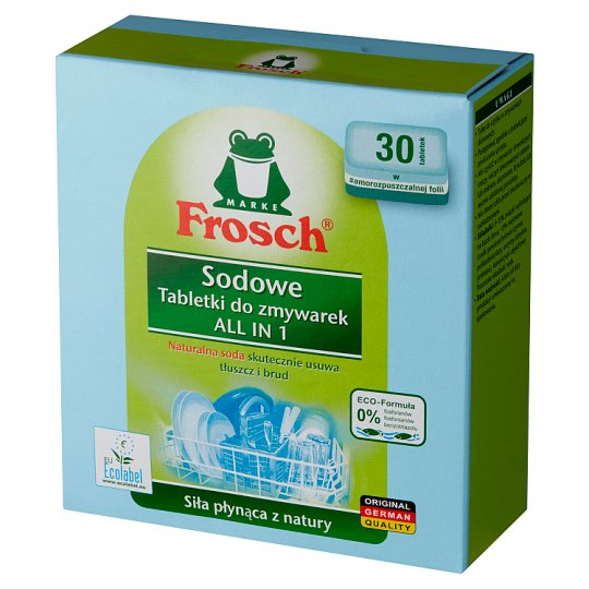 Frosch Soda Dishwasher Tablets 600 g (30 Pieces)