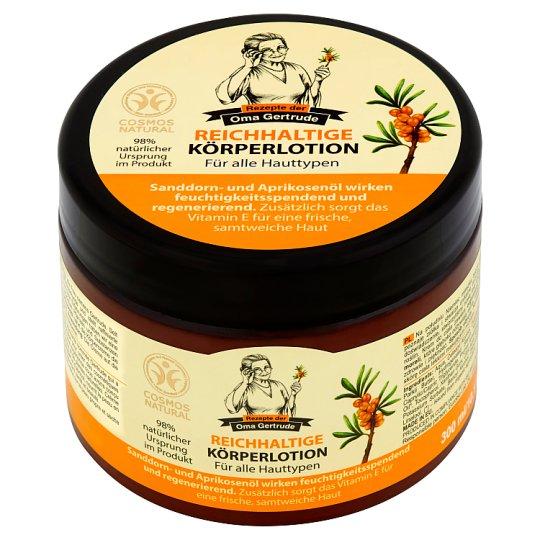 Rezepte Der Oma Gertrude Regenerating Body Cream for All Skin Types 300 ml