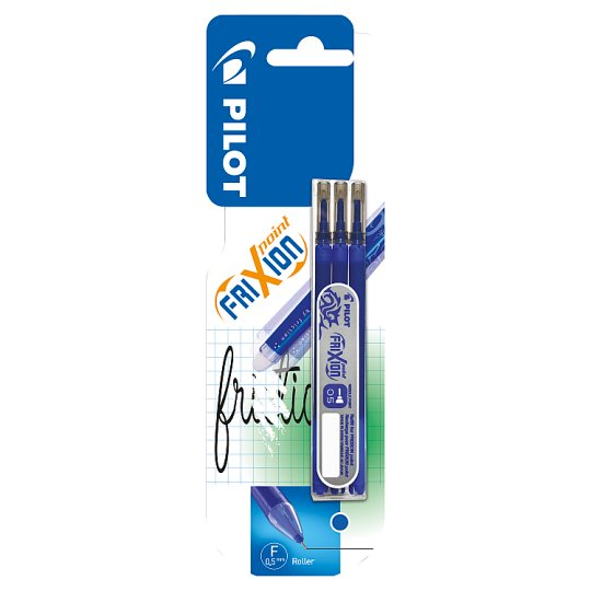 Pilot FriXion Point Roller Blue Refill 3 Pieces