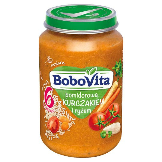 BoboVita Tomato Soup with Chicken and Rice after 6 Months Onwards 190 g