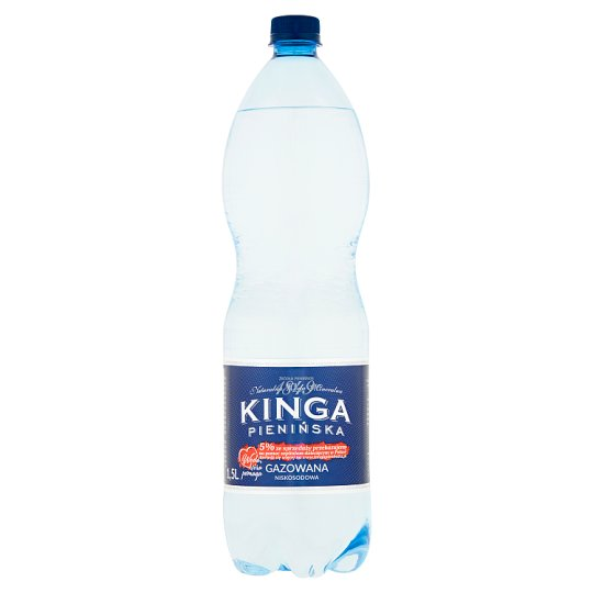 Kinga Pienińska Low Sodium Sparkling Natural Mineral Water 1.5 L
