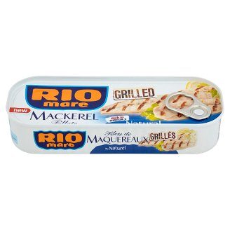 Rio Mare Grilled Mackerel Fillets Natural 120 g