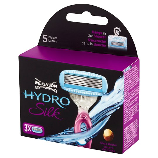 Wilkinson Sword Hydro Silk Wkłady do maszynki 3 sztuki