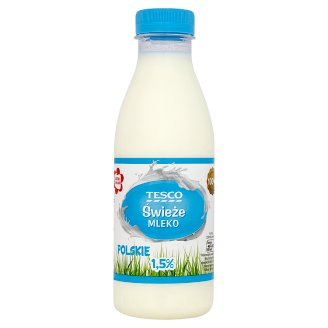 Tesco Fresh Polish Milk 1.5% 500 ml
