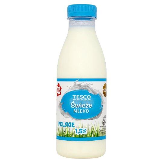 Tesco Fresh Polish Milk 1.5% 500 ml