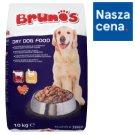 Brunos Pełnoporcjowa karma dla dorosłych psów granulki o smaku wołowiny i drobiu 10 kg
