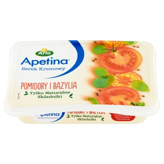 Arla Apetina Tomato and Basil Cream Cheese 125 g