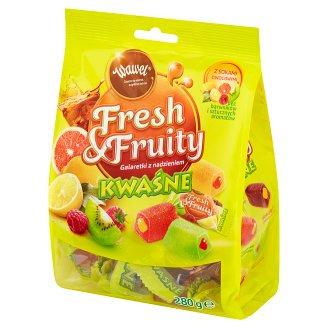 Wawel Fresh & Fruity Sour Filled Jellies 280 g