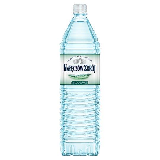 Nałęczów Zdrój Naturalna woda mineralna niegazowana 1,5 l