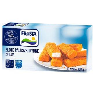 FRoSTA Golden Fish Sticks from Fillet 300 g (10 Pieces)