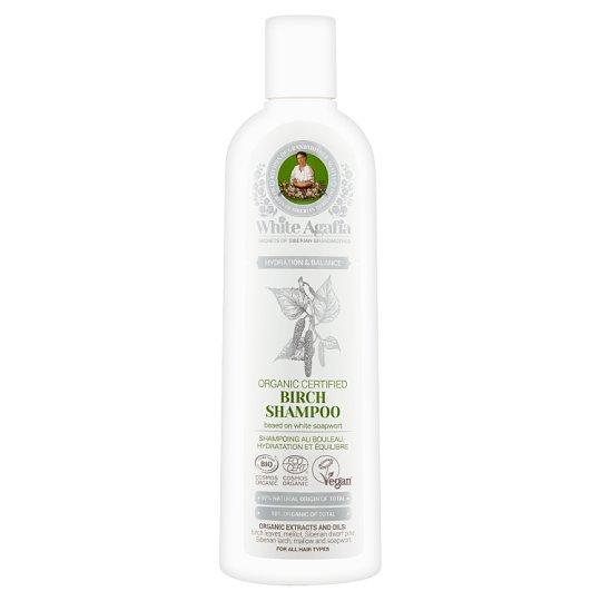 White Agafia Hydration & Balance Birch Shampoo 280 ml