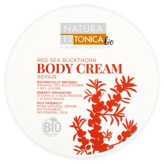 Natura Estonica Bio Red Sea Buckthorn Repair Body Cream 300 ml