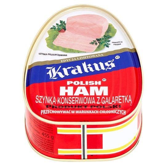 Krakus Polish Canned Ham with Jelly 455 g